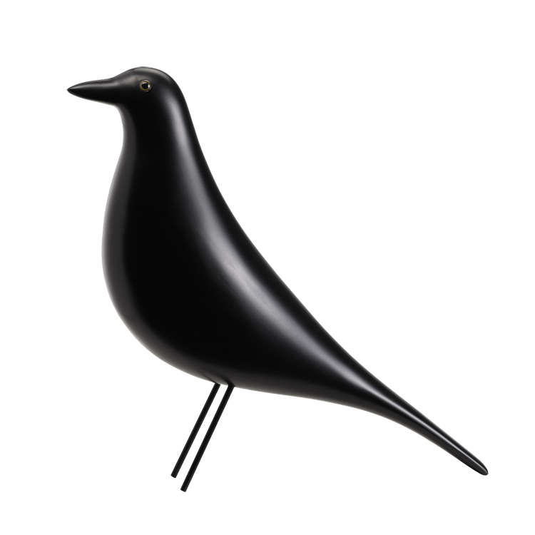 Charles Eames Decoration Housebird Design Decoration : eames style house bird black from dominidesign.com size 750 x 750 png 160kB