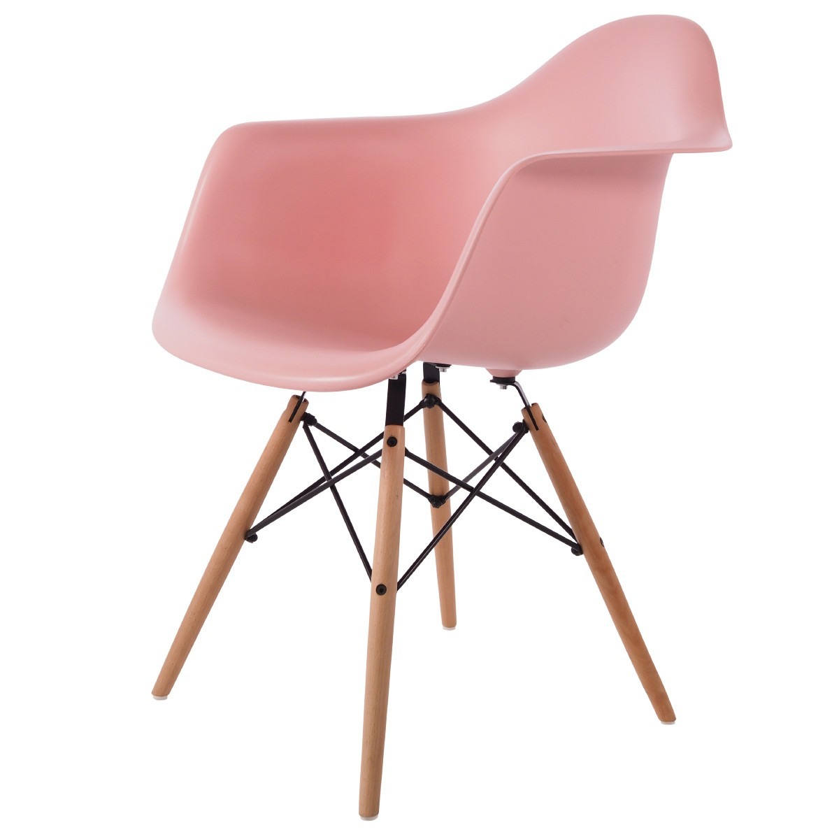 Domini Design Stoelen.Dining Chair Dd Daw Pp Baby Pink