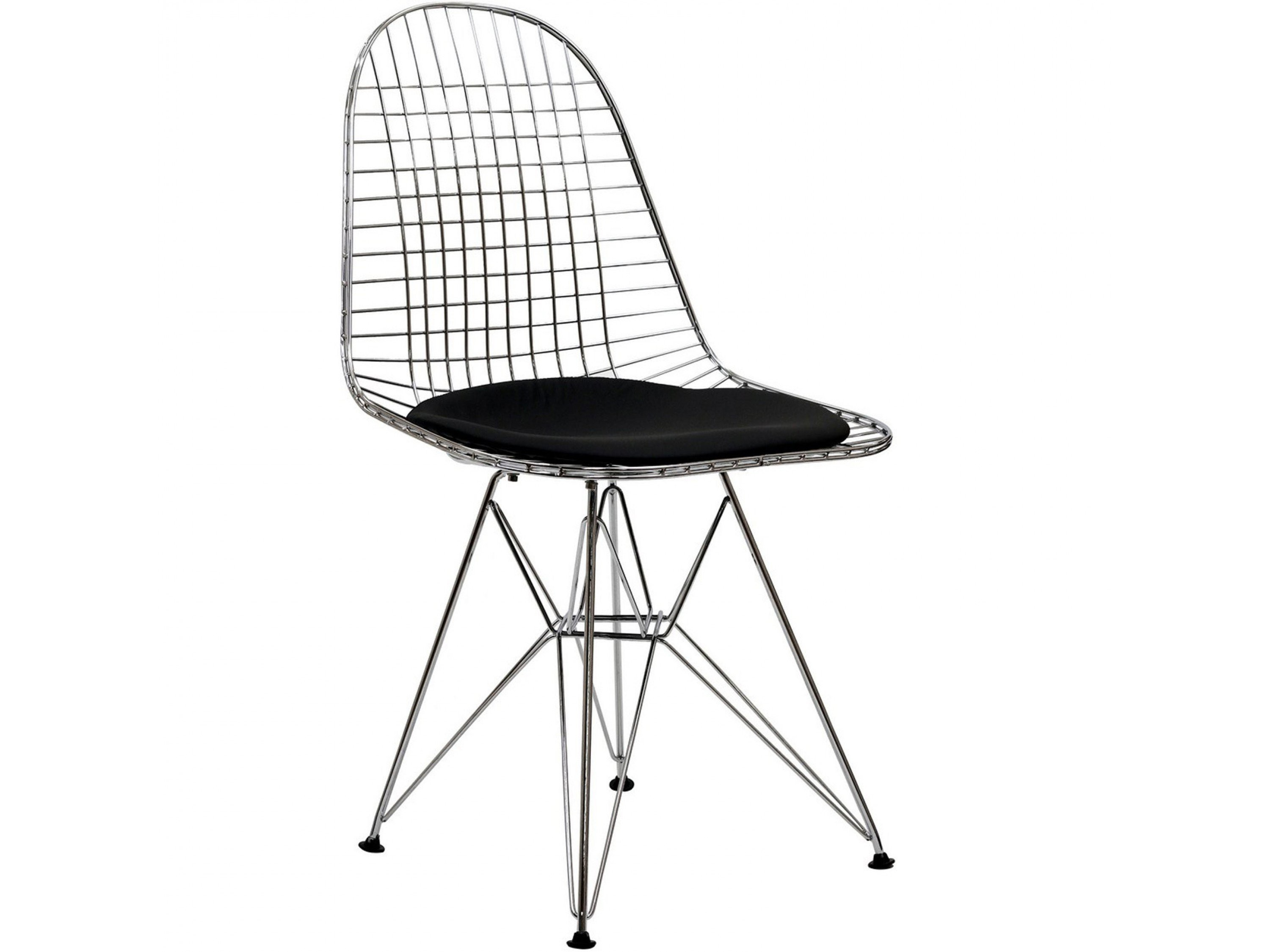 Charles eames dining chair dkr design dining chair for Chaise eames metal