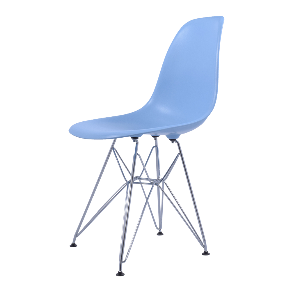 Charles eames eetkamerstoel dsr glanzend design for Eames hocker replica