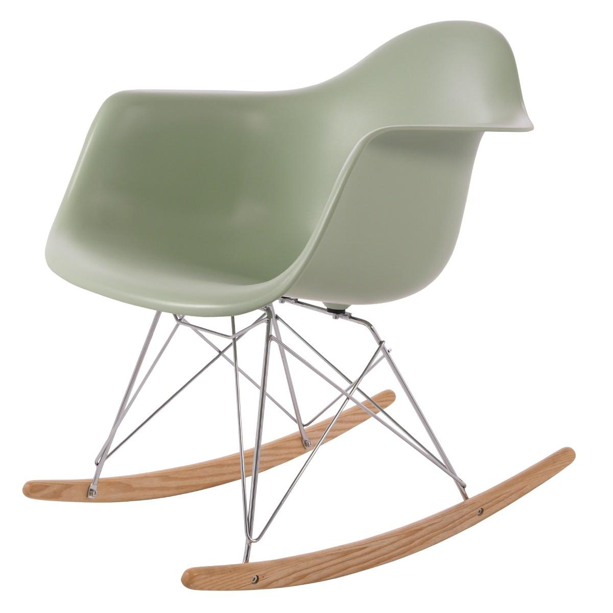 Eames Schommelstoel Babykamer.Charles Eames Schommelstoel Rar Chroom Frame Schommelstoel Design