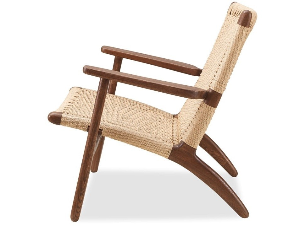 Wegner,lounge stol Easy Chair natural