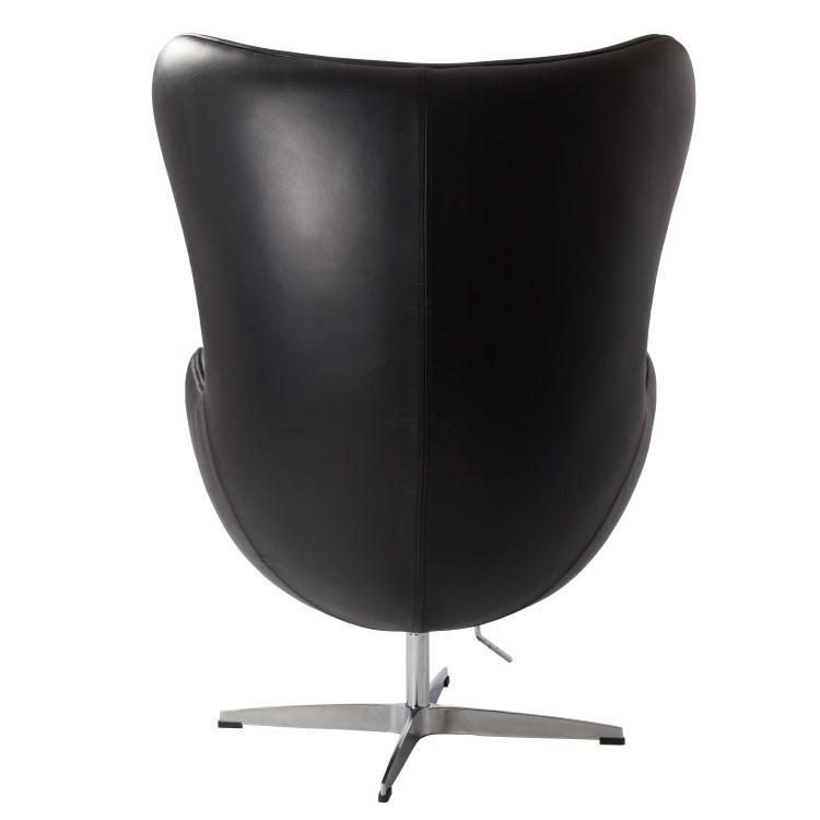 Jacobsen Armlehnstuhle Egg Chair Leder Design Armlehnstuhle