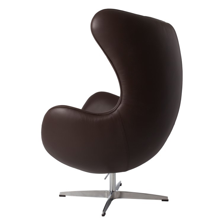 Perfekt ... Arne Jacobsen Egg Chair Leather Brown ...