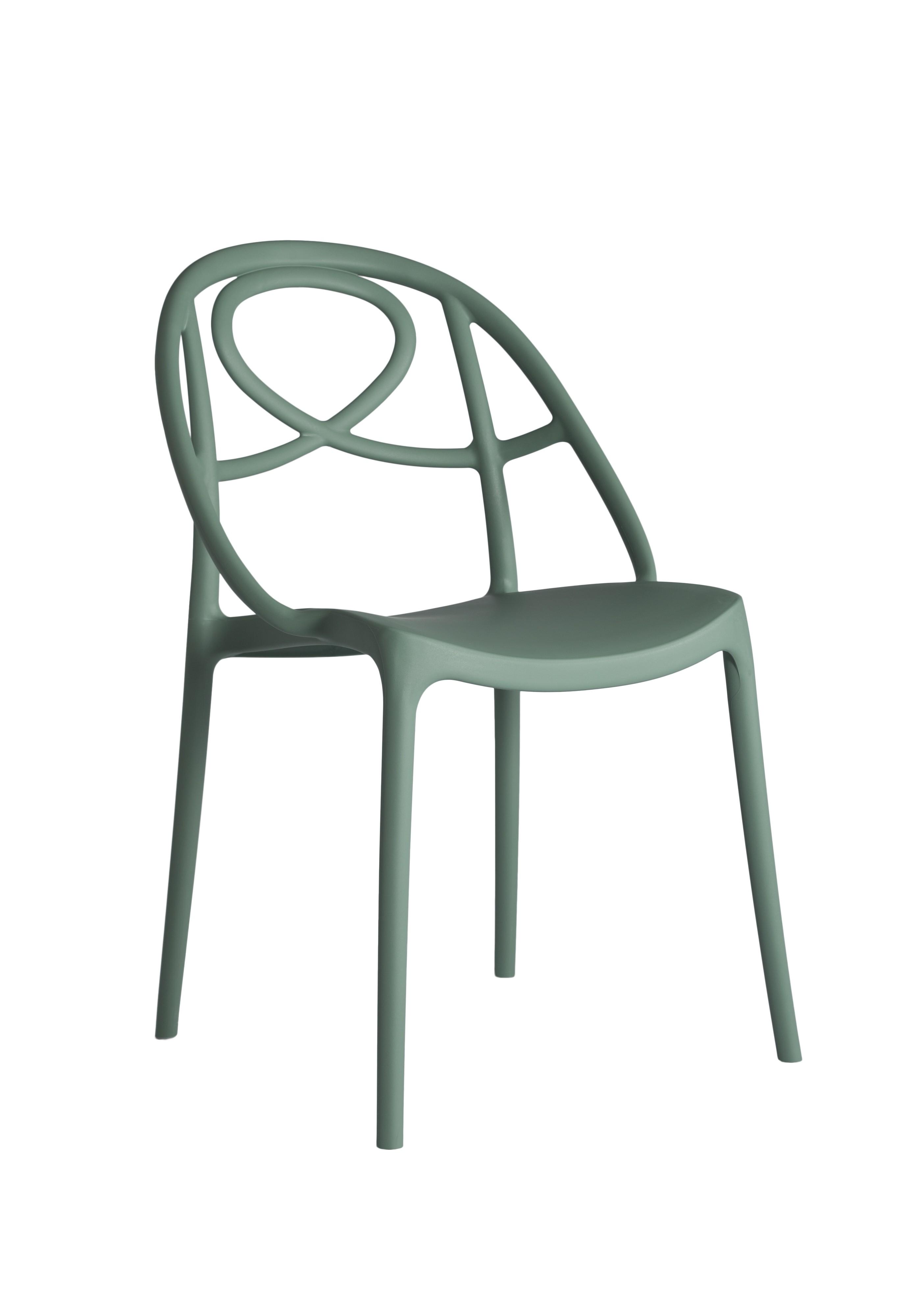 Green srl chaise de salle manger etoile sans accoudoirs for Sedie design tortora