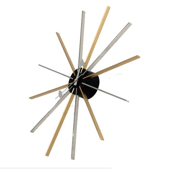 george nelson wandklok star clock veelkleurig design wandklok. Black Bedroom Furniture Sets. Home Design Ideas