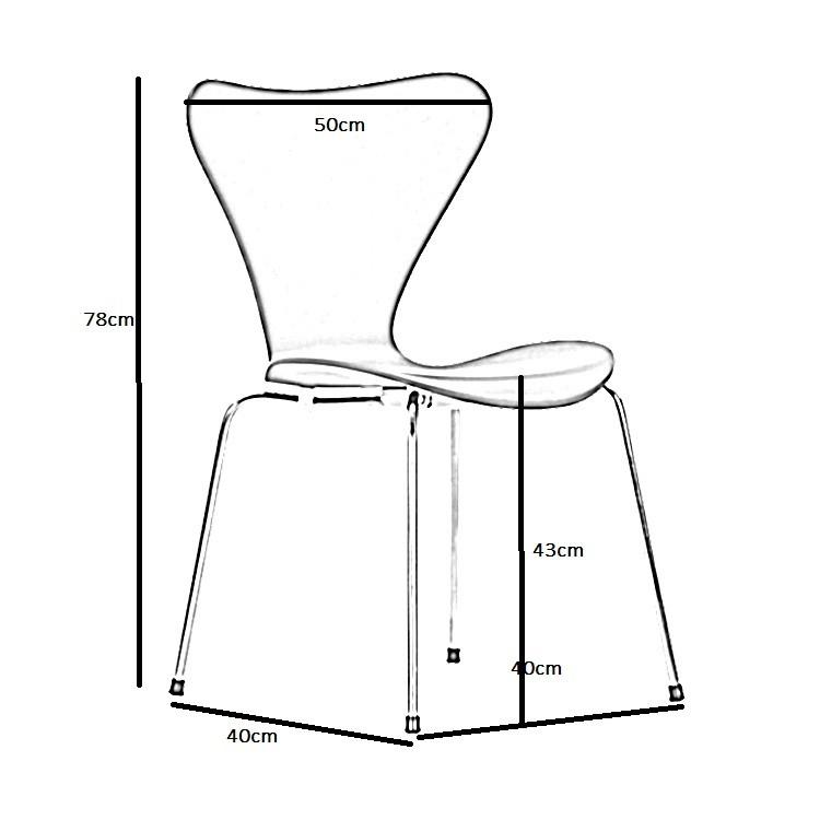 jacobsen esszimmerstuhl butterfly series design esszimmerstuhl. Black Bedroom Furniture Sets. Home Design Ideas