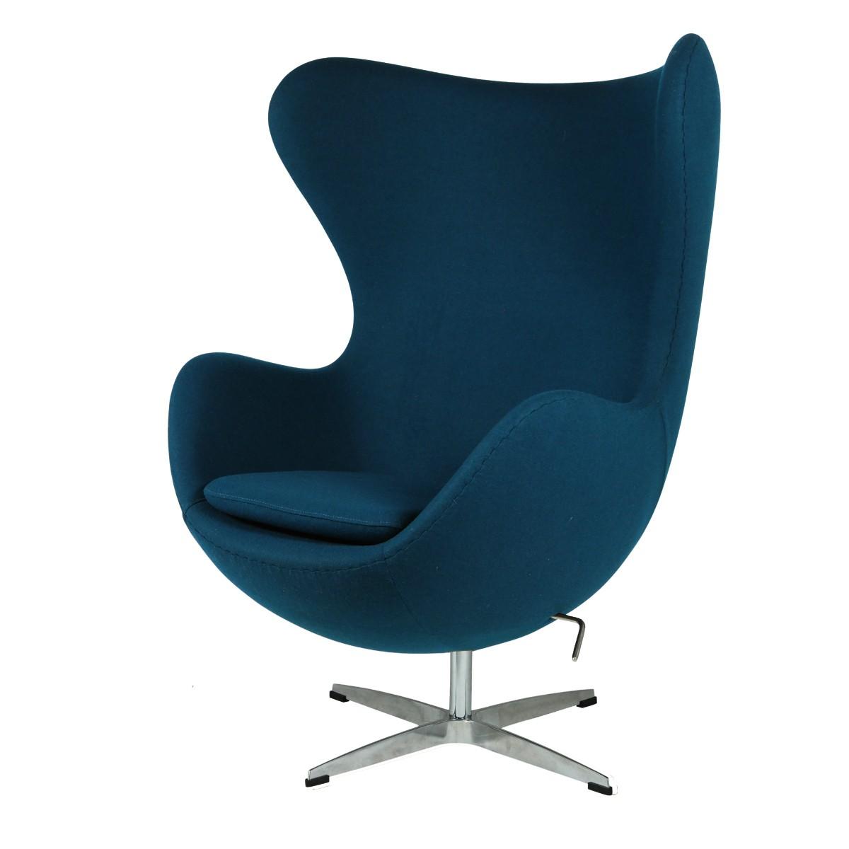 Arne Jacobsen Egg Chair.Arne Jacobsen Lounge Chair Egg Chair Darkblue