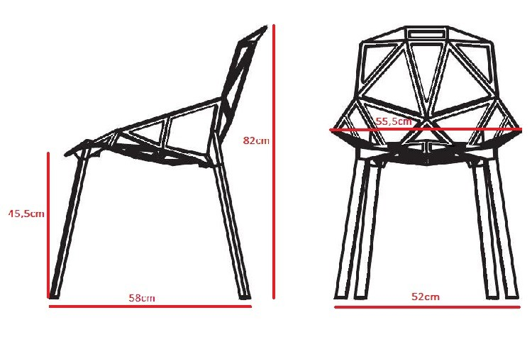 Chair One konstantin grcic dining chair one chair design dining chair