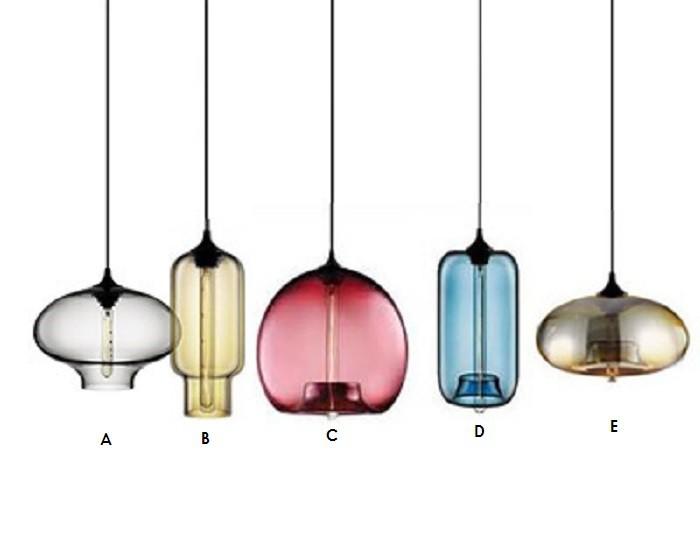 hanglamp type a glazen hanglamp transparant