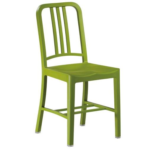 Philippe Starck,terrassenstuhl Navy Chair matte PP grün