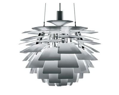 pendelleuchte Artischocke Lampe 92cm Aluminium