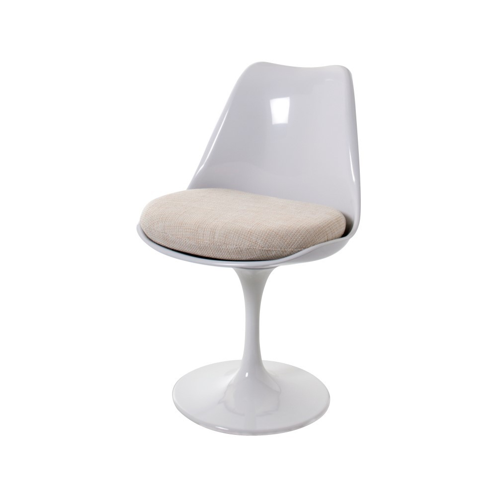 Eero saarinen dining chair tulip chair no arms design dining chair - Replica tulip chair ...