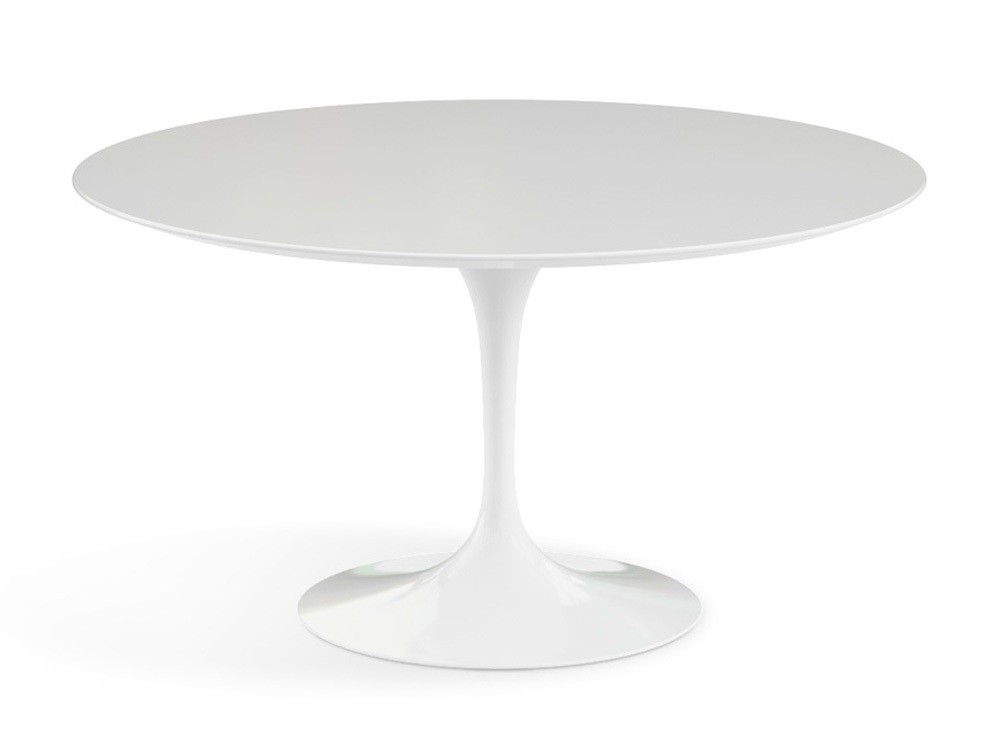 Eero Saarinen Dining Table Tulip Table 100cm Black Matt