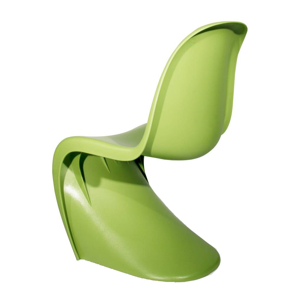 Chaise Panton Verner Panton children's chair panton s-seat junior lightgreen