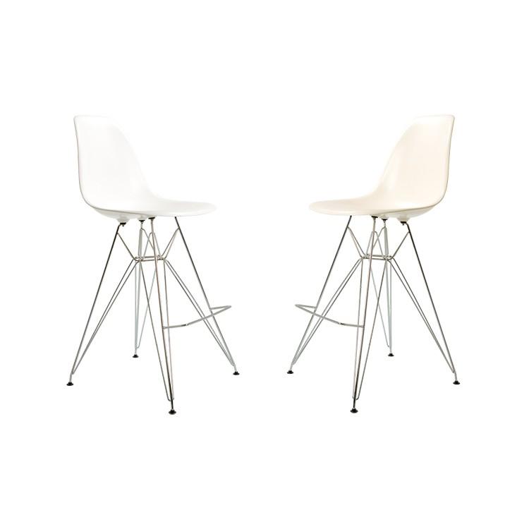 Populaire Charles Eames tabouret. DDSR taburet brillant. Design tabouret. VI25
