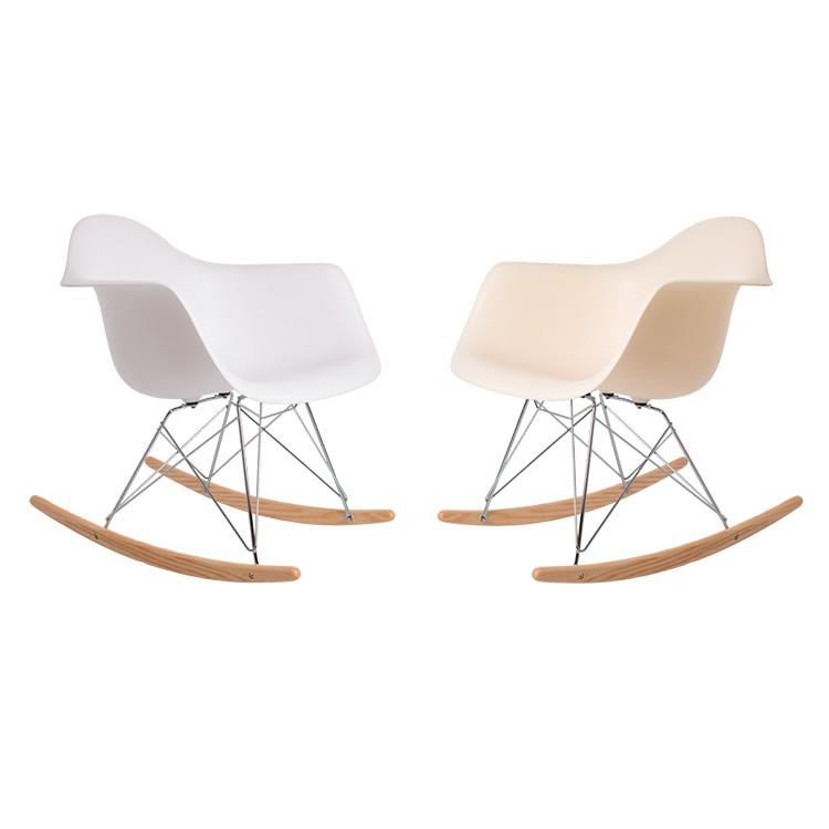 Charles Eames Fauteuil À Bascule . Rar Cadre Chrome Chaise