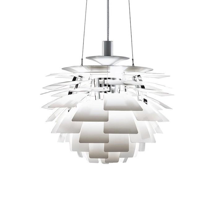 poul henningsen vedh ng artiskok lampe 56cm design vedh ng. Black Bedroom Furniture Sets. Home Design Ideas
