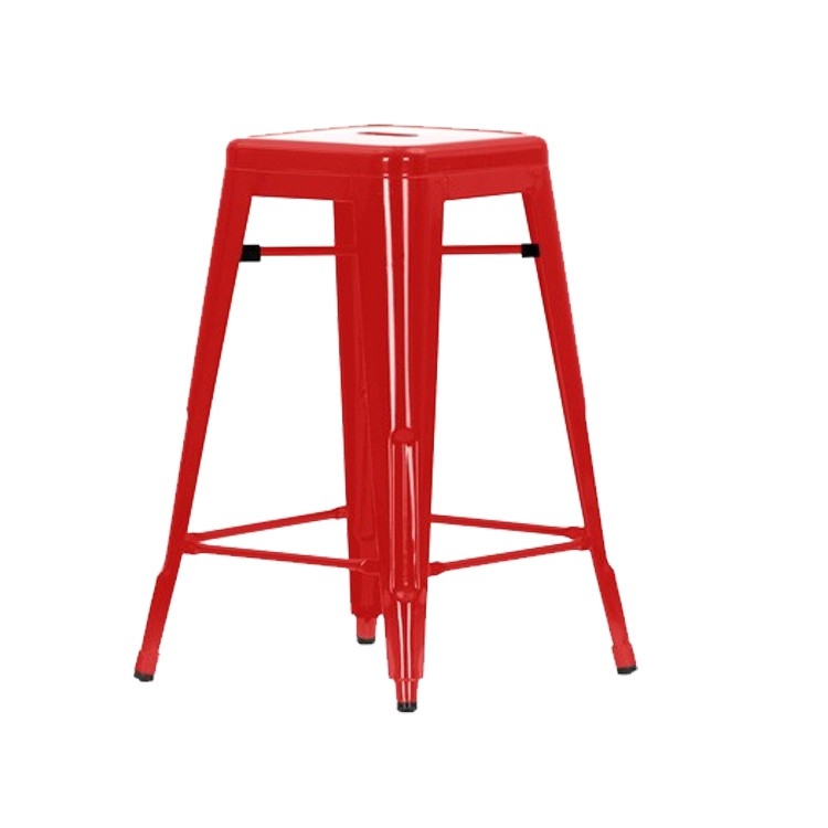 Xavier Pauchard TOLIX Stool 66cm Black Xavier Pauchard TOLIX Stool 66cm Red  ...