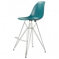 Charles Eames barstol. DD DSR barstol stoppade. Design barstol.