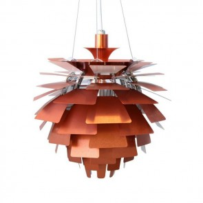 Poul Henningsen Artichoke lamp 48cm copper