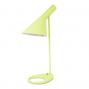 Arne Jacobsen AJ table lamp light green