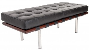 Rohe Barcelona Pavillion Bench black