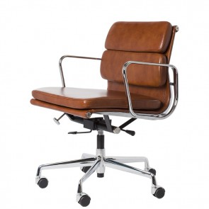 Eames Style EA217 Leather Antique