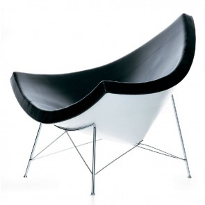 George Nelson Coconut chair black