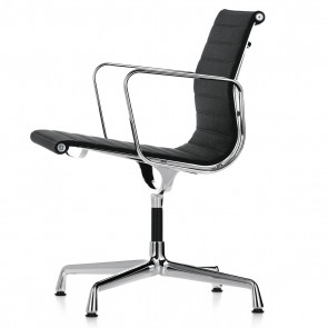 Eames conference chair EA108 hopsack black