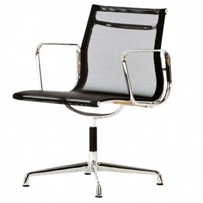 Eames conference chair EA108 mesh black