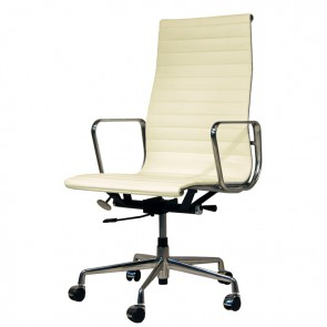 Eames Officechair EA119 leather cream