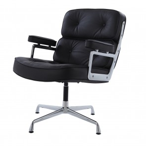 Eames conference chair ES108 leather black