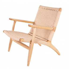 Wegner Easy chair natural natural cord