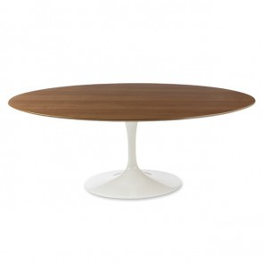 Eero Saarinen Tulip table Oval walnut