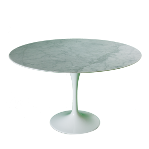 eero saarinen tulip table 120cm marble white