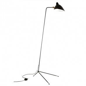 Contemporary floor lamp black