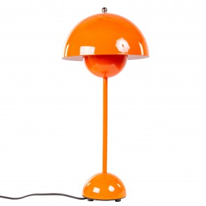 Verner Panton Flowerpot table lamp orange