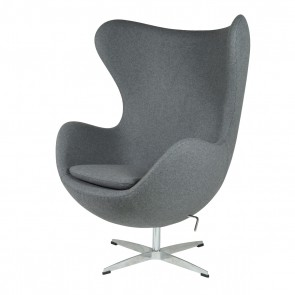 Jacobsen Egg chair cashmere grey 30