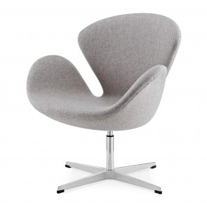 Jacobsen Swan chair light grey 3