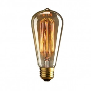 Edison Retro Glass Filament Glödlampa