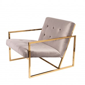 Dominidesign Vintage Velvet Lounge lounge chair