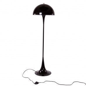 Panthella floor lamp black
