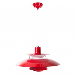 Poul Henningsen PH50 Pendant red