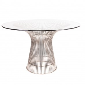 Warren Platner Wire dining table chrome