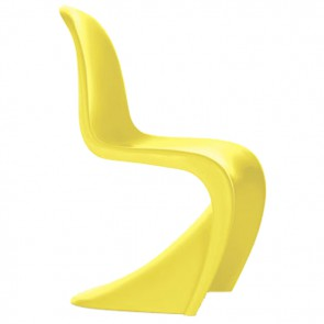 Verner Panton chair ABS yellow