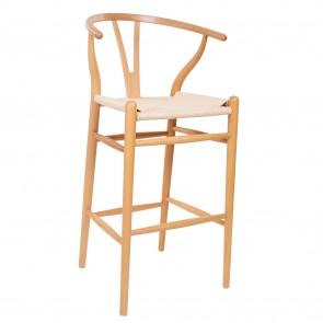 Wegner style Y-chair tabouret