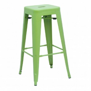 Xavier Pauchard Tolix Stool 77cm matt light green