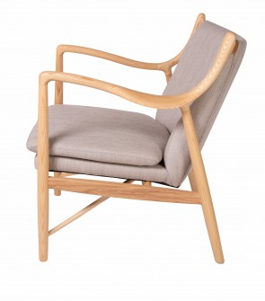 Finn Juhl lounge chair 45 beige