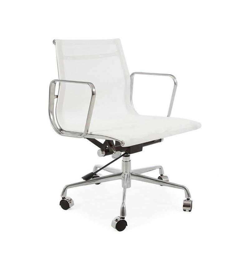 Charles Eames,kontorstol EA117 mesh netweave svart